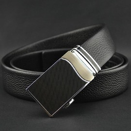Ericdress High Quality Business Genuine Leather Automatic Buckle Men's Belt