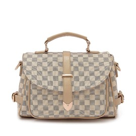 Ericdress Occident Style Plaid Women Crossbody Bag