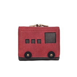 Ericdress Mini Car Shape Color Block Wallet