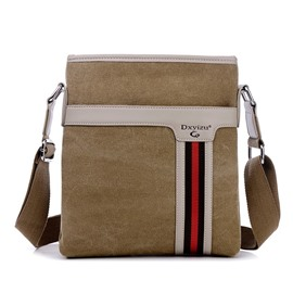 Ericdress Vintage Canvas Zipper Men's Bag