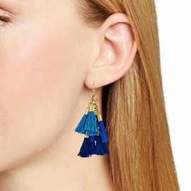 Ericdresss Trendy Tassel National Style Drop Earring for Women
