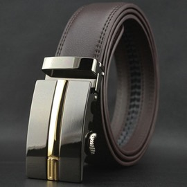 Ericdress High End Automatic Buckle Genuine Leather Men's Belt