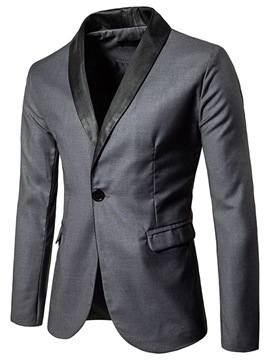 Ericdress Plain England Style Men's Slim Blazer