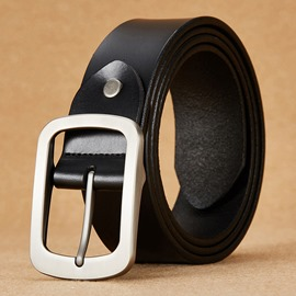 Ericdress All Match Genuine Leather Men's Belt