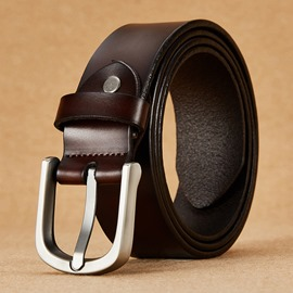 Ericdress Best Selling Genuine Leather Pin Buckle Belt for Men