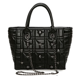 Ericdress Vogue Quilted Lining Chain Women Handbag