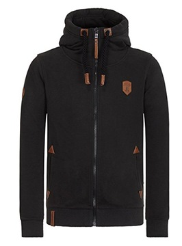 Ericdress Hooded Zip Up Lace-Up Men's Jacket