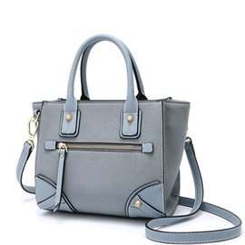 Ericdress Vintage Patchwork Zipper Handbag