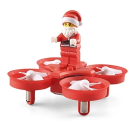 Ericdress Gifts for Kids JJRC H67 RC Drone with Flying Santa Claus Christmas Toy