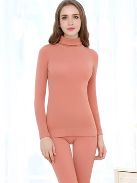 Ericdress Thermal Underwear Shirt and Pants Women's Suit