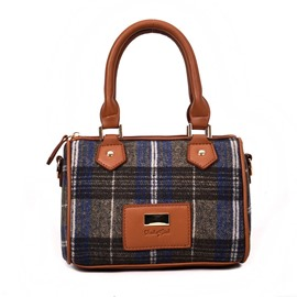 Ericdress Pillow Shape Plaid Women Handbag