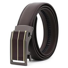 Ericdress High Quality Genuine Leather Automatic Buckle Belt for Women