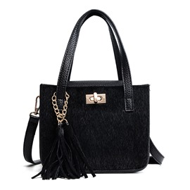 Ericdress Tassel Pendant Mini Women Handbag