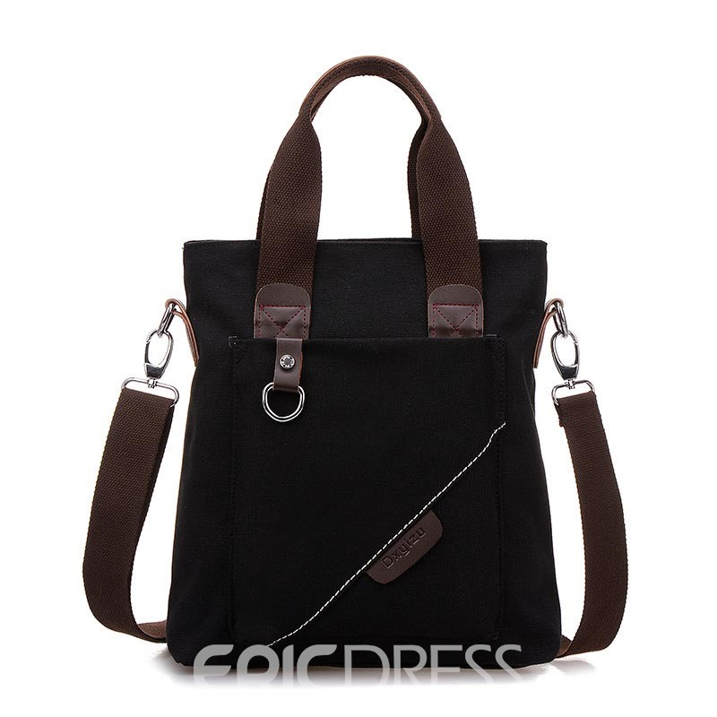 Ericdress Casual Canvas Zipper Men' Bag