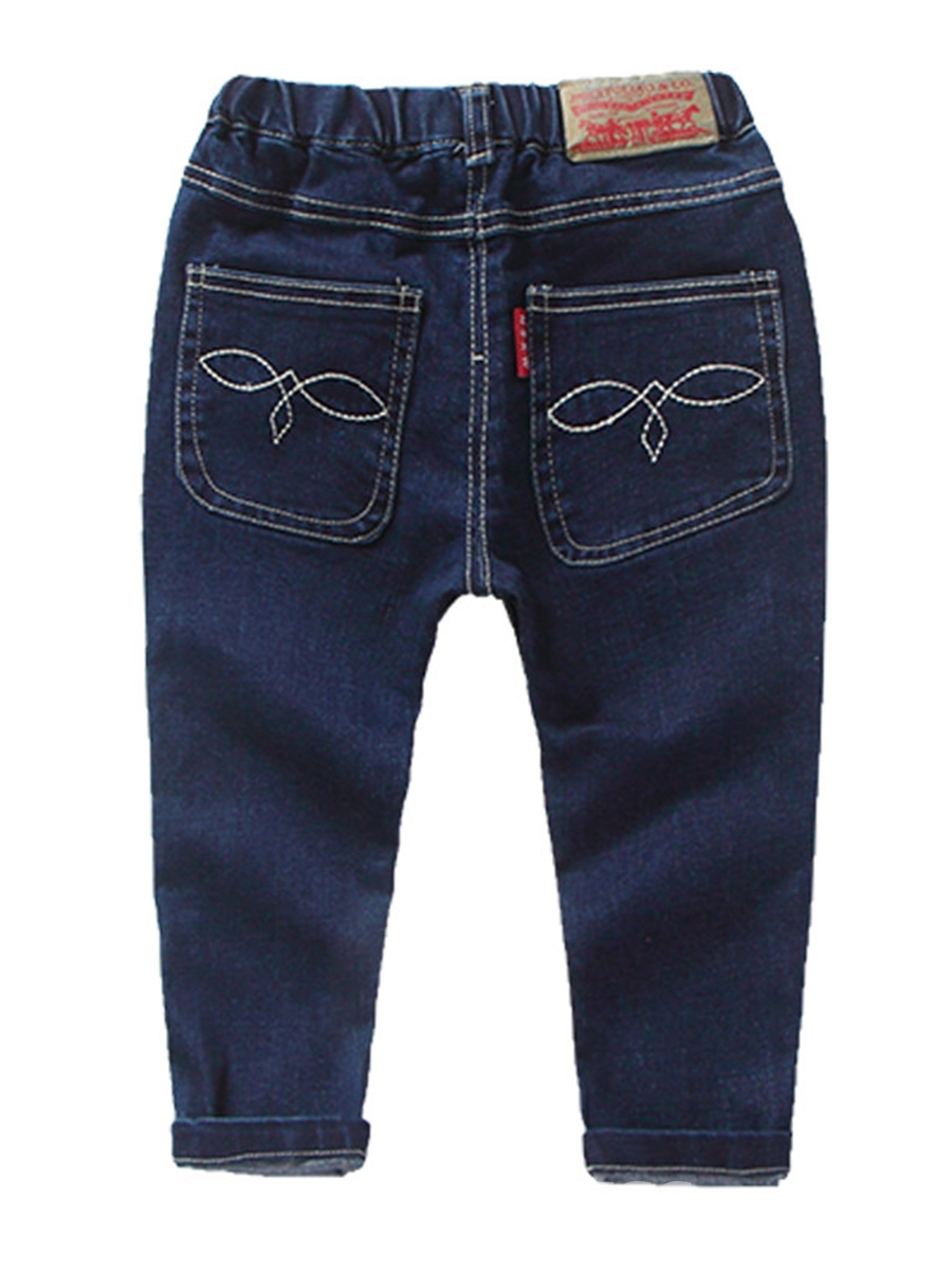 Ericdress Plain Straight Baby Boy's Jean