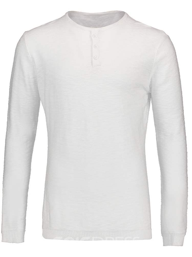 Ericdress Plain Straight Mens Long Sleeve Shirts