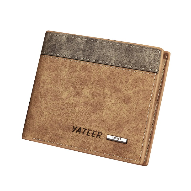 Ericdress Vintage Short Type Matting Men's Wallet