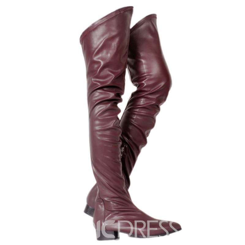 Ericdress Best-Selling Fall&Winter Plain Women's Thigh High Boots
