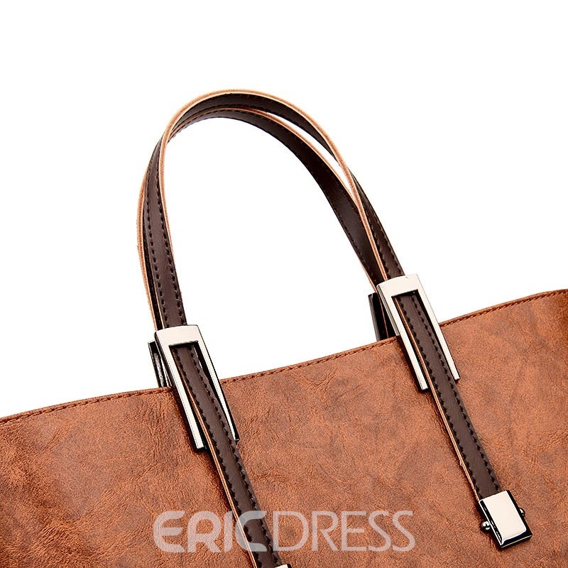 Ericdress Vintage Huge Space Women Handbag ( 2 Bag Set)
