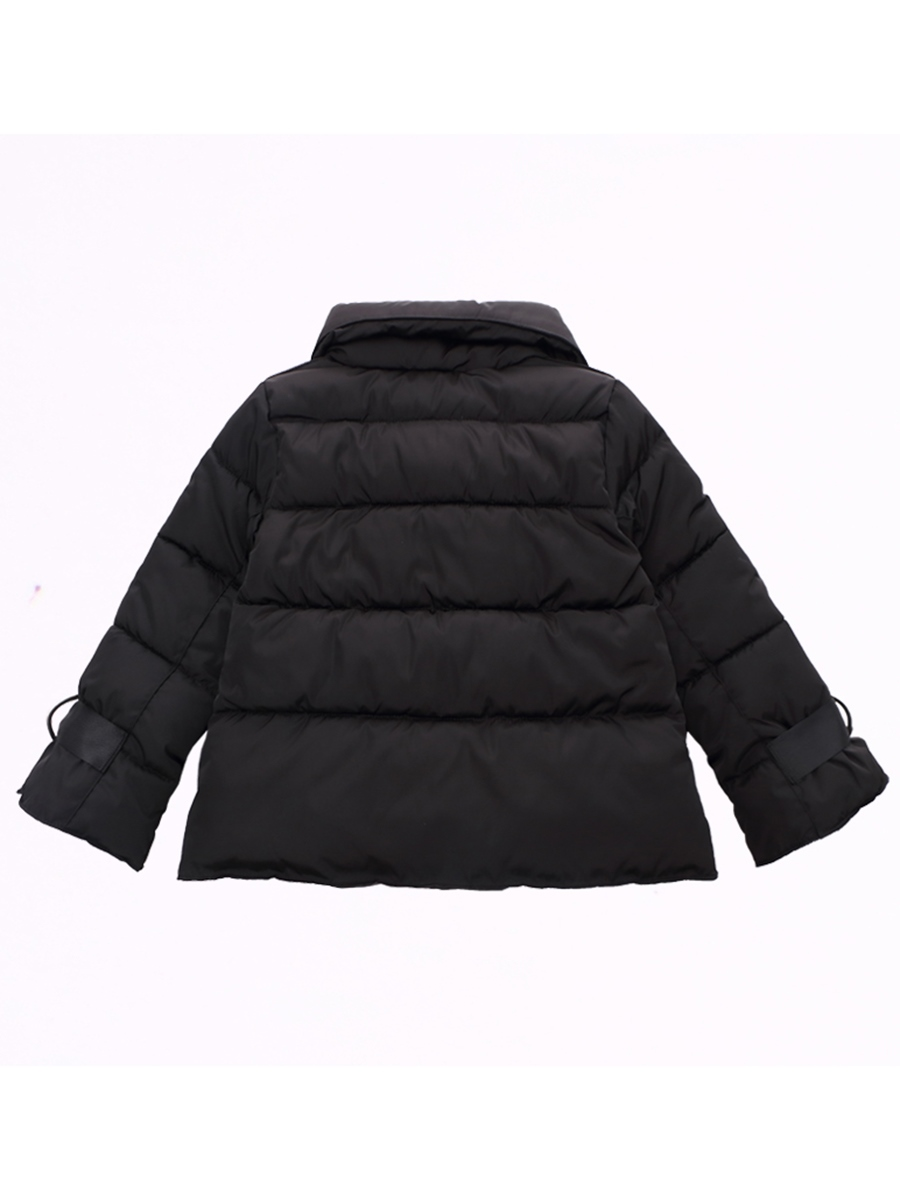 Ericdress Lapel Flare Sleeve Loose Girl's Down Jacket