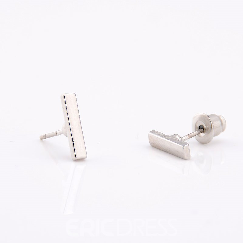 Ericdress Chic Concise Women's Stud Earring