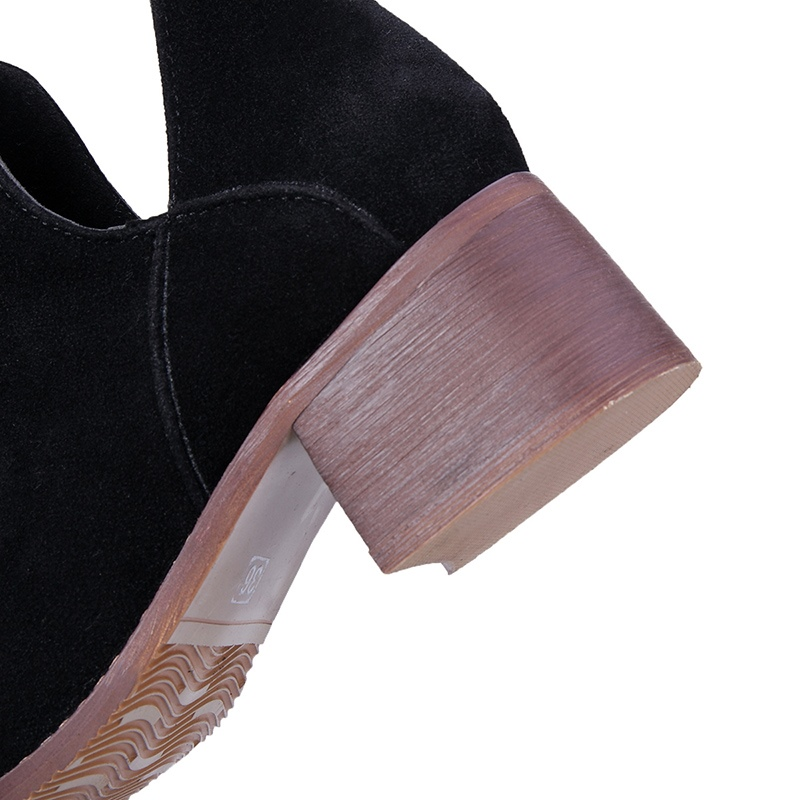 Ericdress Simple Slip-On Women's Ankle Boots