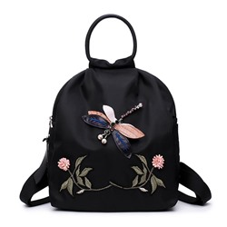 Ericdress Chinese style Embroidery Oxford Women Backpack