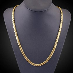 Ericdress Best Seller 18K Gold Plating Mens Necklace