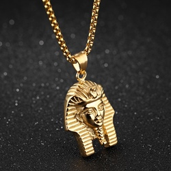 Ericdress Hot Pharaoh Pendant Hip Pop Mens Necklace