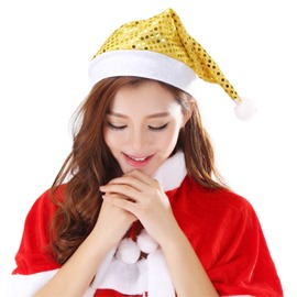 Ericdress Shining Christmas Party Hat for Women