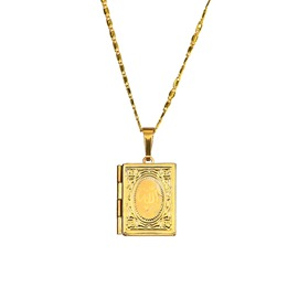 Ericdress Men's 18K Gold Pendant Necklace