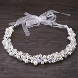 Ericdress Bride's Handmade Pearl Hair Accessories