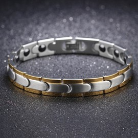 Ericdress 2017 New Style Stainless Steel Magnet Bracelet