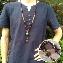 Ericdress National Style Long Pendant Necklace for Men