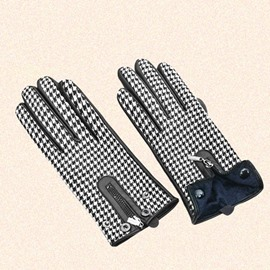 Ericdress British Style Fashionable Houndstooth Warm Gloves