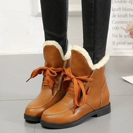 Fuzzy Lace-Up Patchwork Plain Men's Boots lowest price discount real niUkg