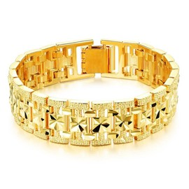 Ericdress High Quality Gold Plating European Style Men's Bracelet