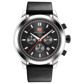 Ericdress JYY Stylish Round Case Waterproof Quartz Watch for Men