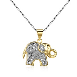 Ericdress Cute Elephant Pendant Women's Necklace