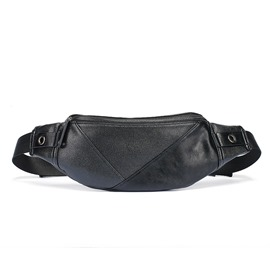 Ericdress Korean Style PU Men's Waist Pack