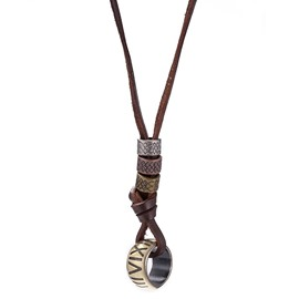 Ericdress Retro Alloy Pendant Necklace for Men