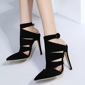 Ericdress Buckle Pointed Toe Stiletto Heel Pumps