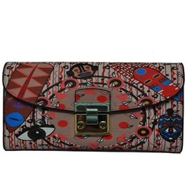 Ericdress Korean Style Prints Long Type Wallet