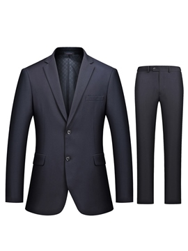 Ericdress Notched Lapel Fit Men's Suit