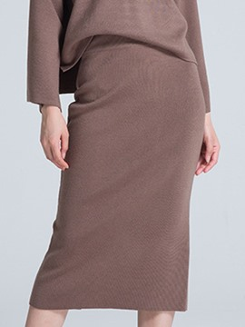Ericdress Bodycon Women's Knit Skirt