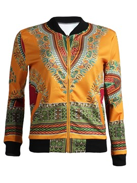 Ericdress Loose Zipper Dashiki Women's Jacket