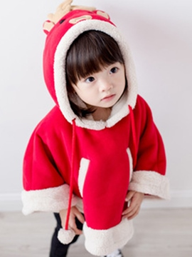 Ericdress Christmas Elk Model Cosplay Girl's Cape