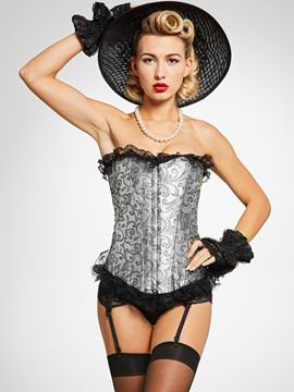 Ericdress Floral Lace-Up Body Shape Corset