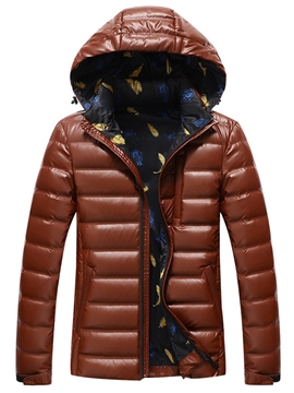 Ericdress Hood Warm Vogue Quality Men's Winter Jacket
