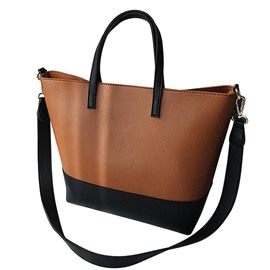 Ericdress Concise Huge Space Color Block Shoulder Bag